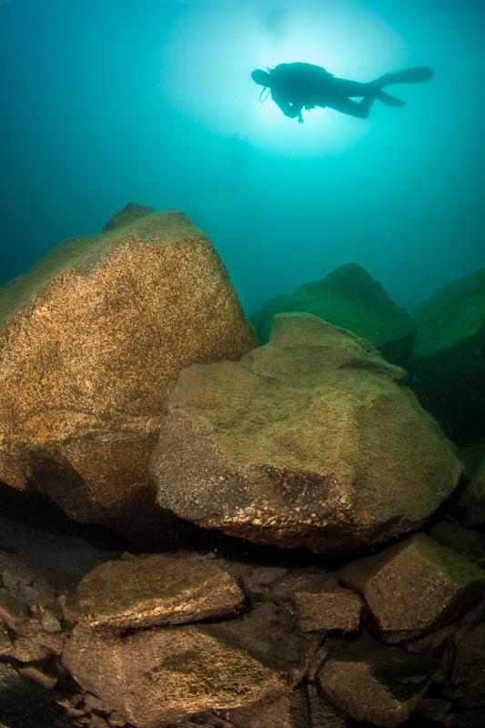 Undervattensfotograf Stefan Beskow wa